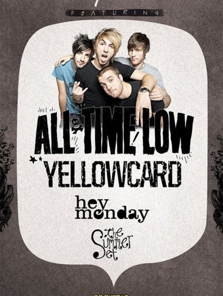 All Time Low Spring Tour