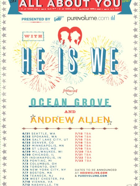 He Is We announces Headlining tour