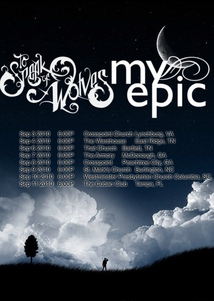 My Epic to embark on a southeast tour