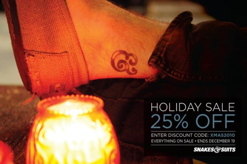 Snakes & Suits Holiday Sale