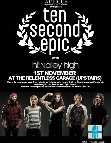 Free Ten Second Epic show