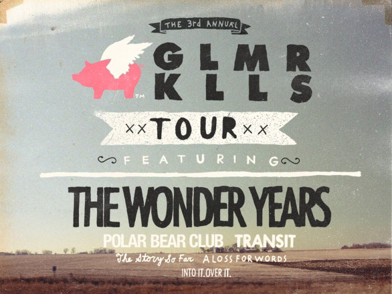 The Glamour Kills tour