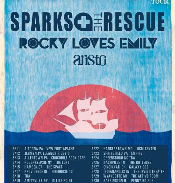 Sparks The Rescue announce the Surrender Your Booty tour