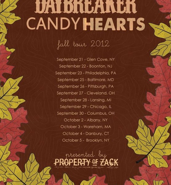 Daybreaker to tour with Candy Hearts this fall