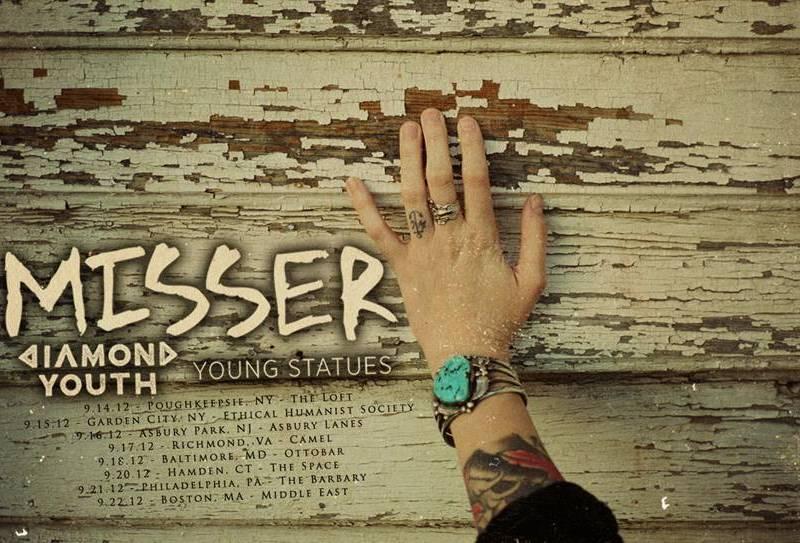 Misser announce September tour dates
