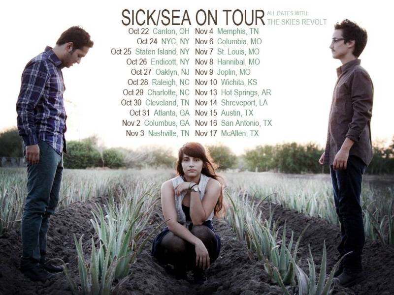 Sick/Sea announce tour dates for fall tour