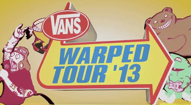 New Warped Tour 2013 Trailer