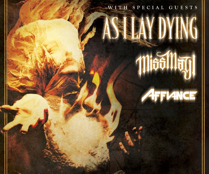 Killswitch Engage to tour with As I Lay Dying, Miss May I, and Affiance this summer