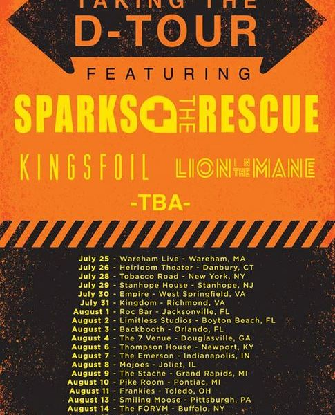 Sparks The Rescue Announce New Tour