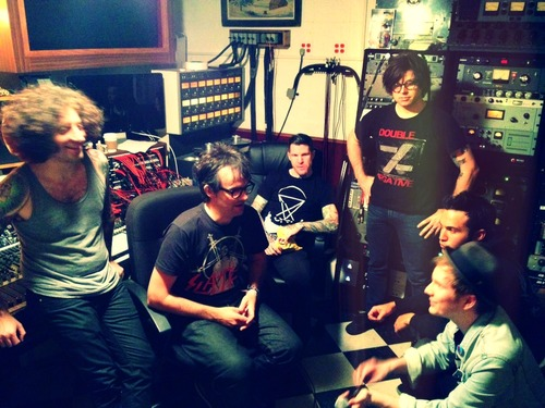 Fall Out Boy In The Studio With Ryan Adams