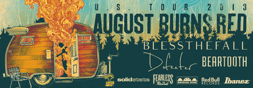 blessthefall august burns red