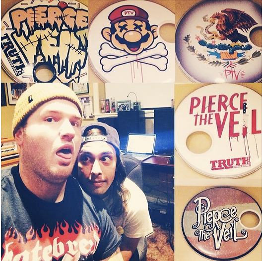 Pierce The Veil Working With Chad Gilbert on New Album