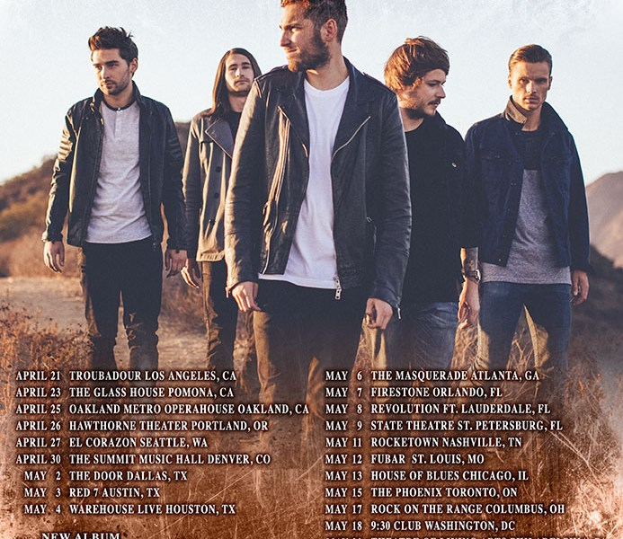 You Me At Six announces spring headliner tour