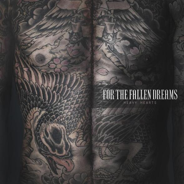 for the fallen dreams heavy hearts cover smaller