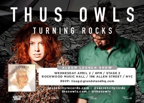 Thus Owls to release album on April 8th, announce New York show on April 2nd