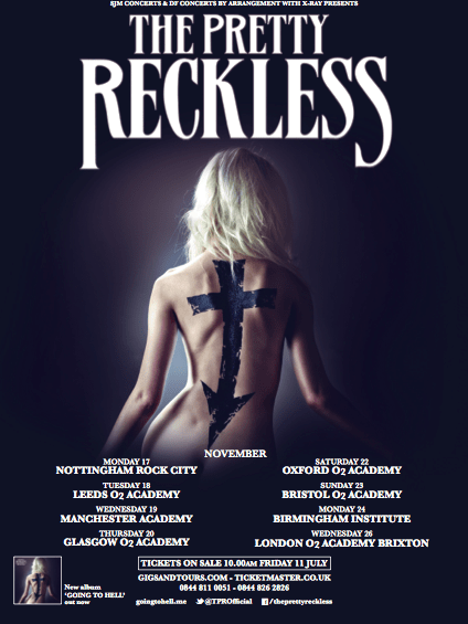 The Pretty Reckless announce UK tour