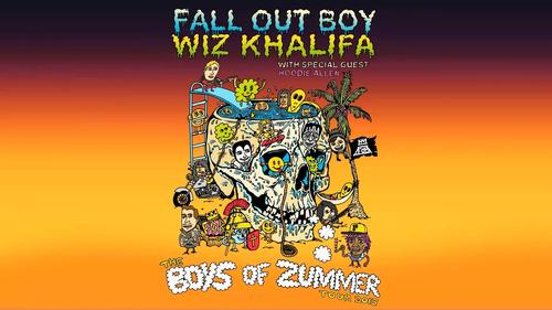 Fall Out Boy and Wiz Khalifa Announce Summer Tour