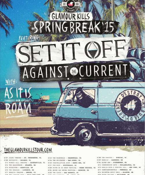 Against The Current Announce Spring Tour