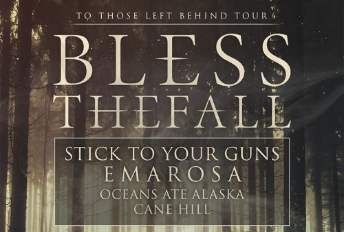 Blessthefall Announce Fall Tour