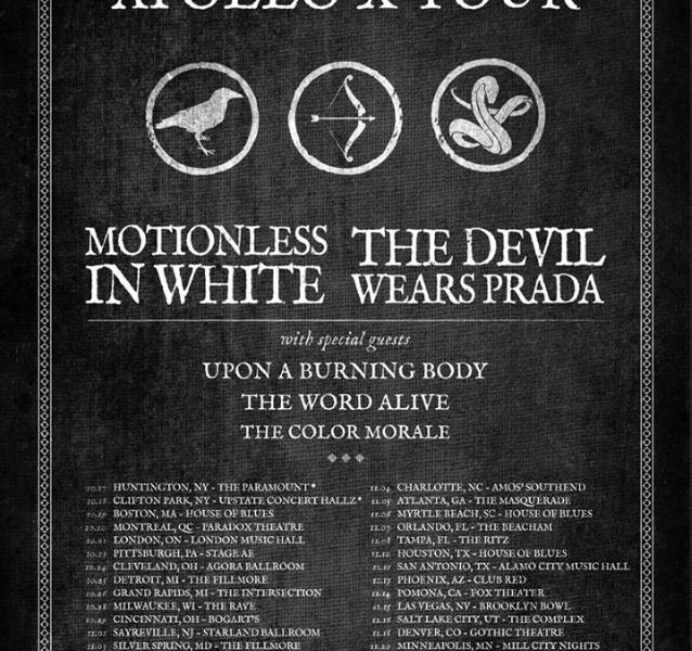 The Devil Wears Prada + Motionless In White Announce Fall Tour