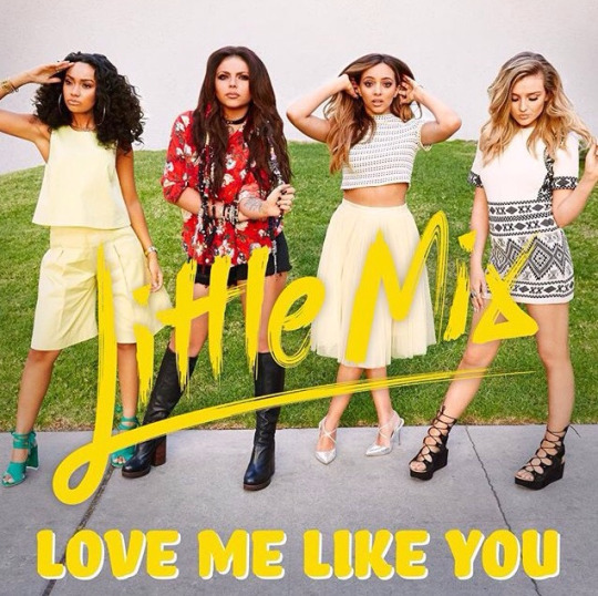 "Little Mix Release ""Love Me Like You"" Music Video"