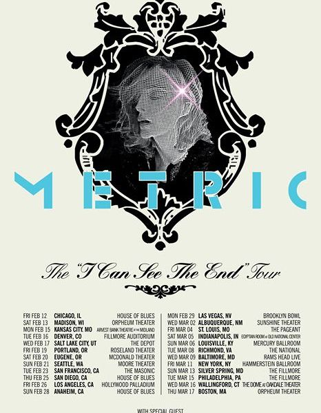 Metric Announce Winter 2016 Tour