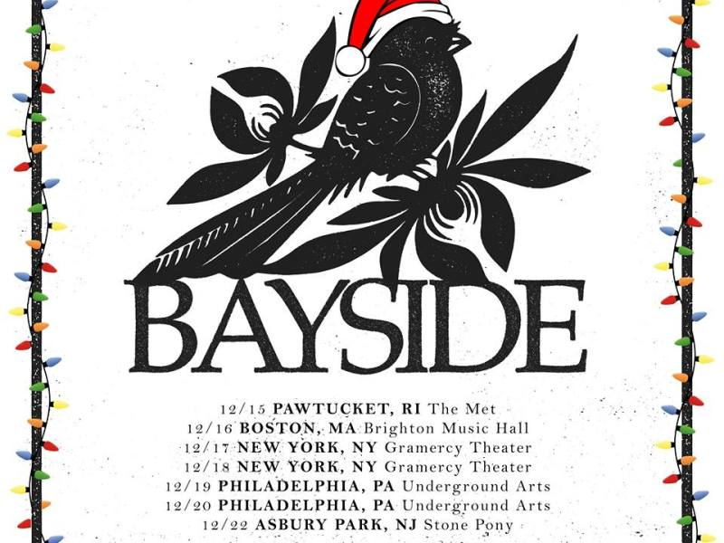 Bayside To Perform Self-Titled Album At Holiday Shows