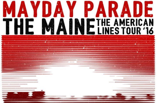 Mayday Parade + The Maine Announce US Spring Tour