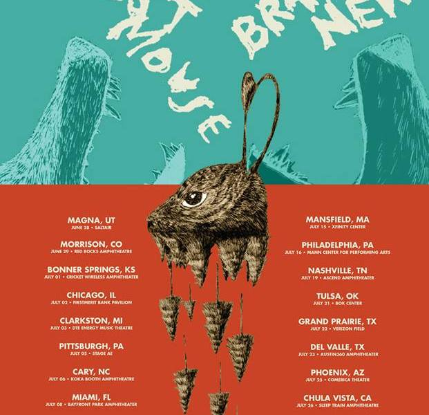 Brand New + Modest Mouse Announce Summer North American Tour