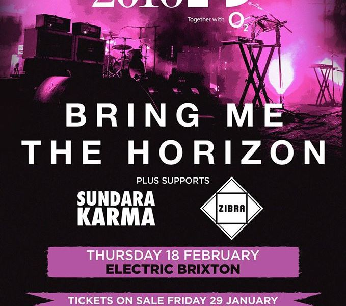 Bring Me The Horizon Announce Exclusive London Show