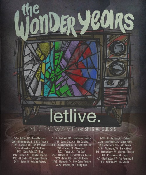 The Wonder Years Announce Spring Tour