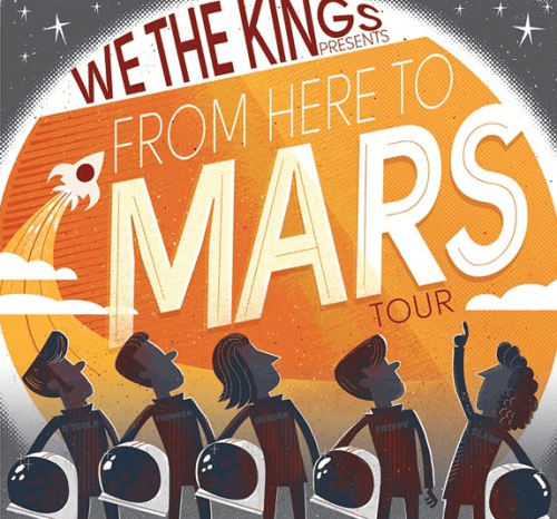 We The Kings Announce Spring US Tour
