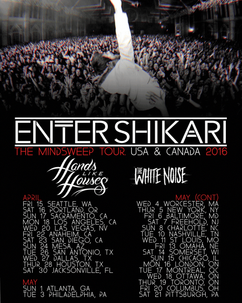 Enter Shikari + Hands Like Houses Announce North American Tour