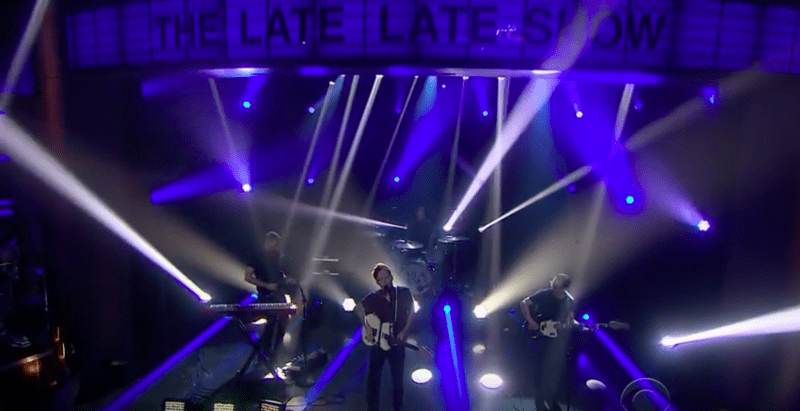 "Atlas Genius performs ""Stockholm"" on The Late Late Show with James Corden"
