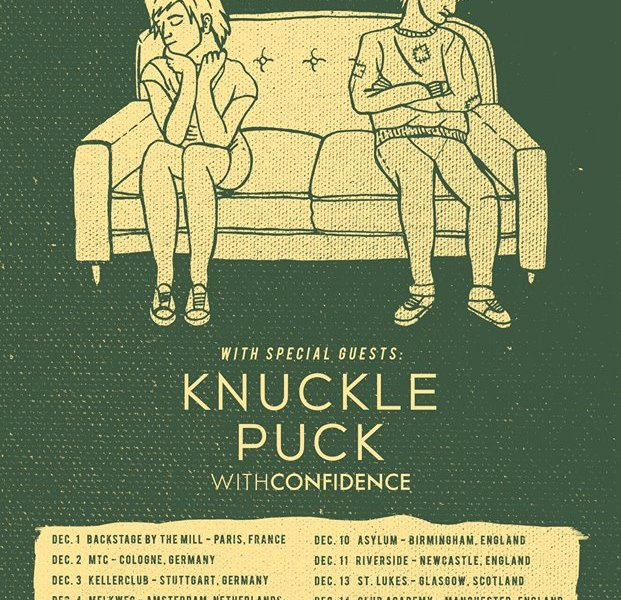 Real Friends, Knuckle Puck announce winter European tour
