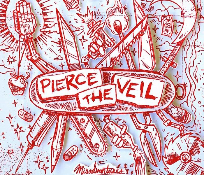 Pierce The Veil stream 'Misadventure' on Spotify