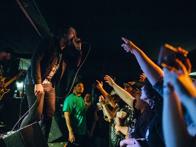 Beartooth – Stray From The Path – My Ticket Home // Syracuse, NY 5.17.2016