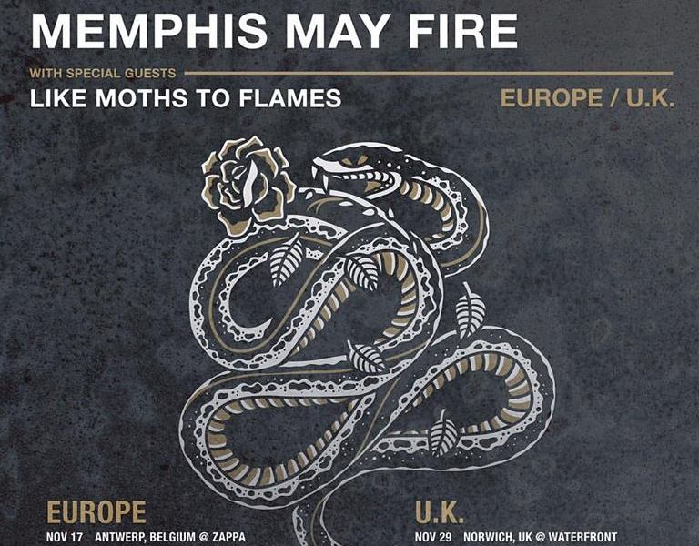 Silverstein, The Devil Wears Prada, Memphis May Fire, Like Moths To Flames announce European/UK Tour