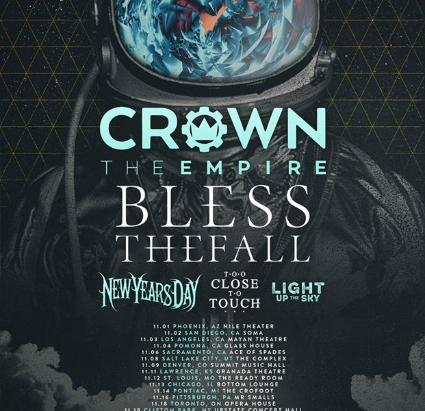 Crown The Empire, Blessthefall announce fall North American tour