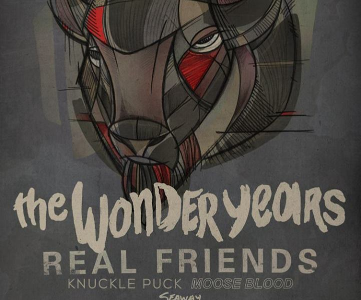 The Wonder Years, Real Friends, Knuckle Puck announce fall North American tour
