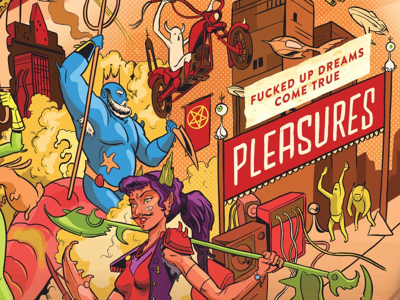 Album Review: Pleasures 'Fucked Up Dreams Come True'