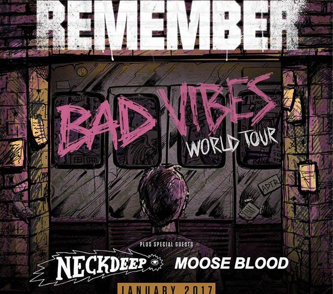 A Day To Remember, Neck Deep, Moose Blood announce 2017 UK tour