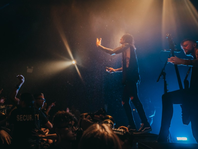 blessthefall – The Word Alive – DED – Thousand Below – A War Within // New York, NY 9.16.18