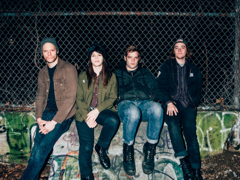 Big Eyes kicking off their tour at Union Pool in Brooklyn on 3/30