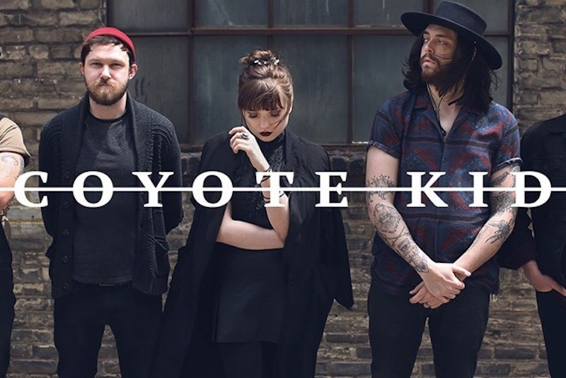"""Coyote Kid premieres new single and video for """"Strange Days"""""""