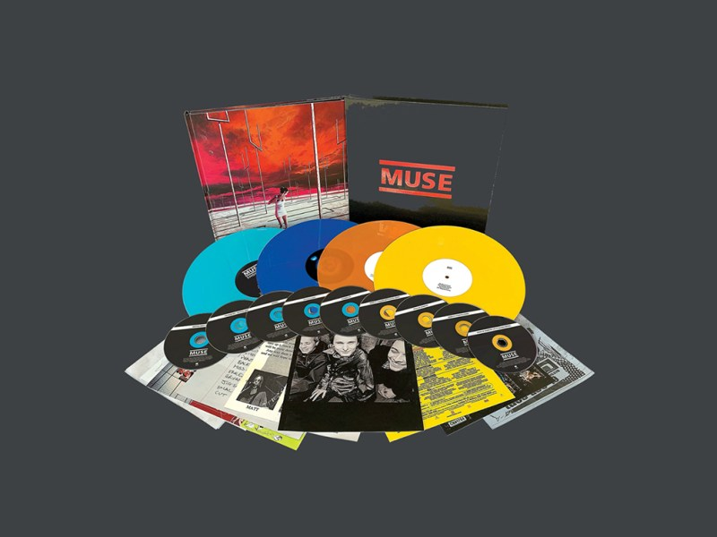 Muse to release 'Origin of Muse' Box Set