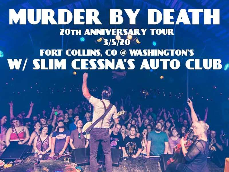 Reflecting on the past, discussing the future and getting weird with Adam Turla of Murder By Death