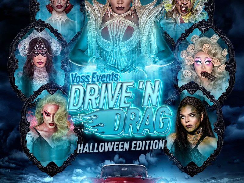 Drive N' Drag: Halloween Edition puts a spooktacular spin on the wildly popular drive in drag experience