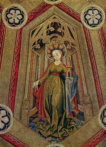 A beautiful 15th century beaded piece