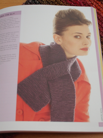 The pattern in called 'Tuck' and you create a slit in the knitting
